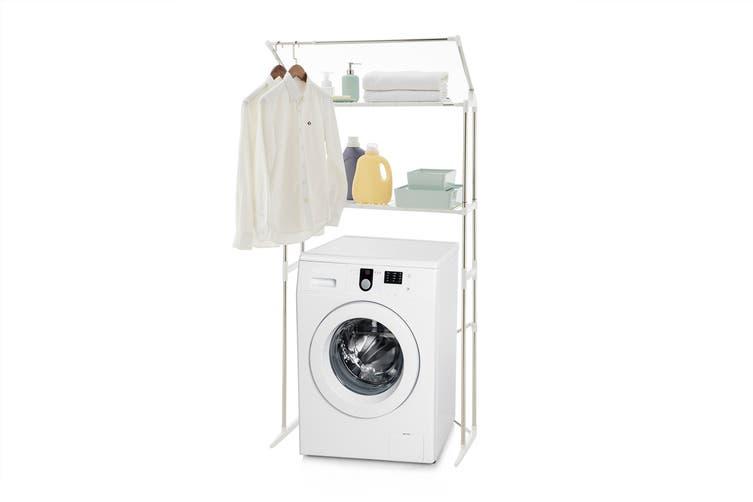 Ovela Laundry Storage Rack Matt Blatt