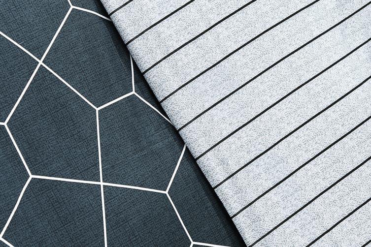 Ovela Danny 100% Cotton Reversible Quilt Cover Set (Queen)
