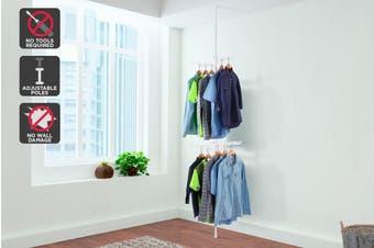 Ovela Adjustable Telescopic Clothes Hanger