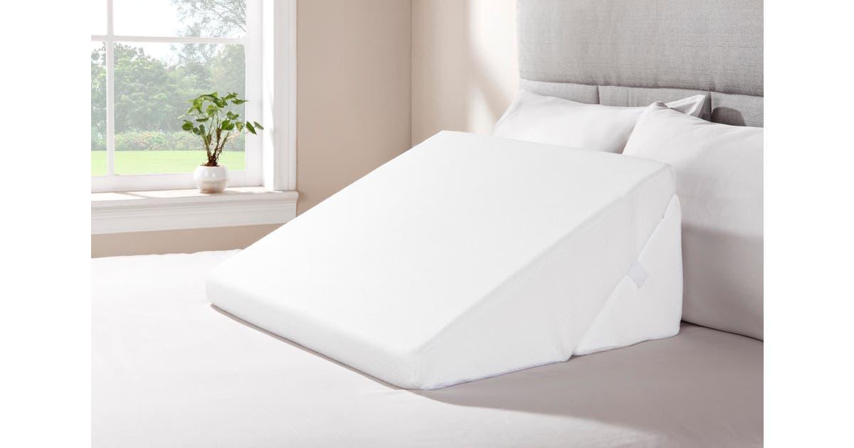 ovela memory foam bed wedge pillow set pillows