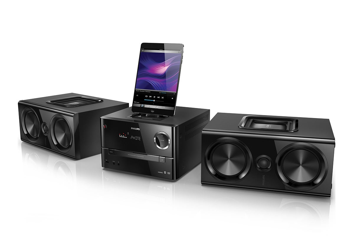 Home Theatre - Philips DVD Micro Music System with Bluetooth, HDMI and Lightning Connector (DTD3190)