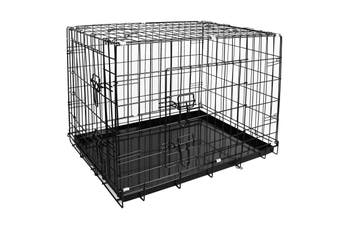 Pawever Pets Collapsible Metal Dog Playpen / Crate