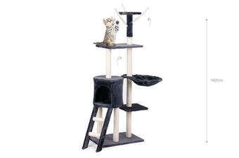 Pawever Pets Cat Scratching Post Tree (Medium)