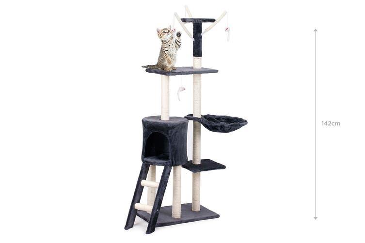 Pawever Pets Cat Scratching Post Tree (Medium)