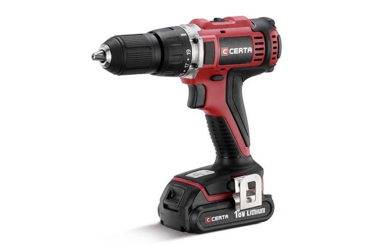Certa PowerPlus 18V Cordless Drill (Skin Only)