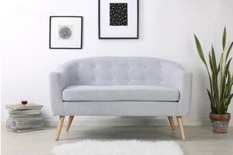 Shangri-La Sanna 2 Seater Sofa (Ash Grey)