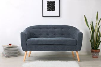Shangri-La Sanna 2 Seater Sofa (Midnight Blue)