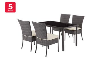 Shangri-La Lytton 5 Piece Outdoor Furniture Dining Set