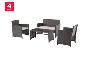 Shangri-La Redcliff 4 Piece Outdoor Furniture Lounge Set
