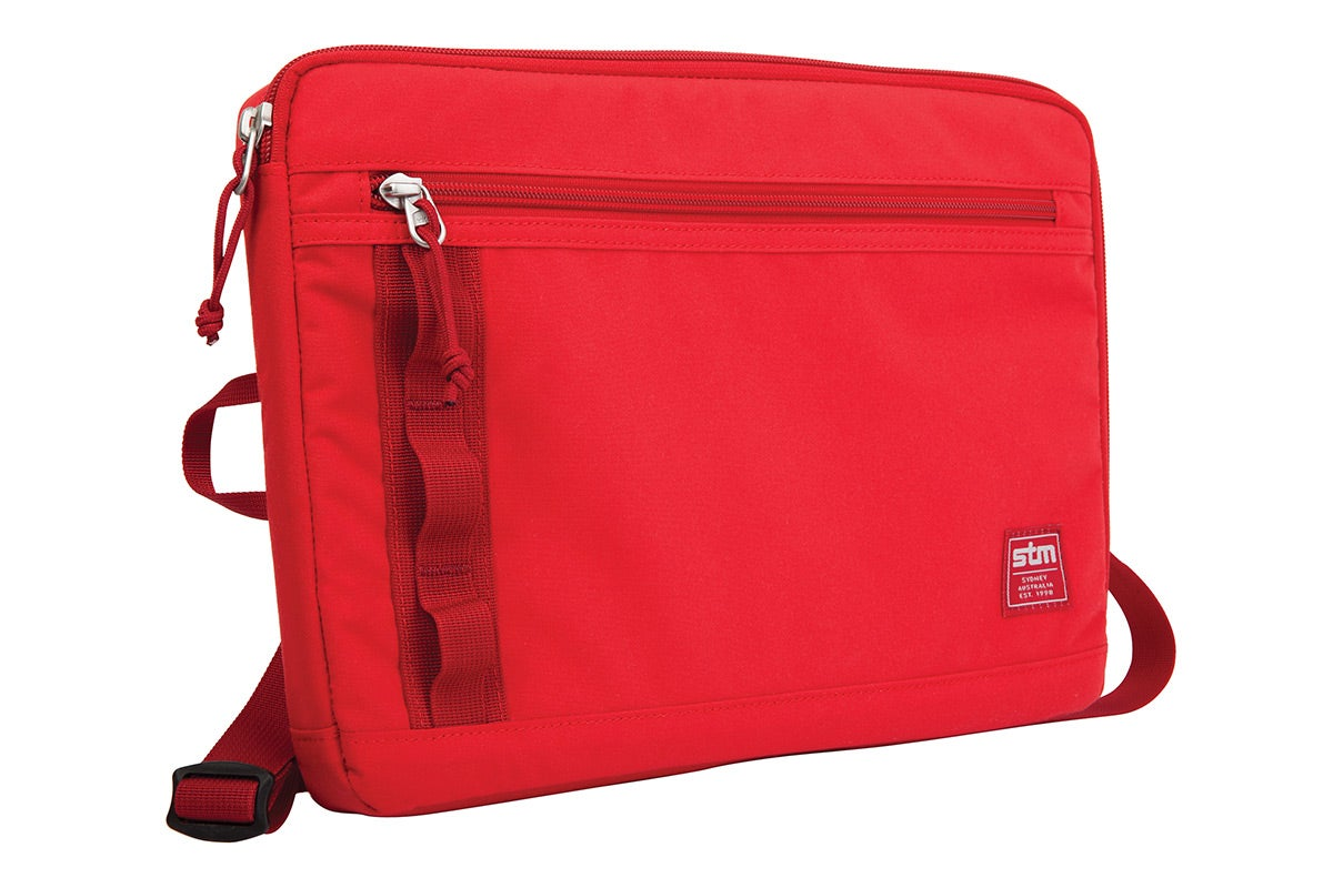 "Bags & Covers - STM Arc 13"" Laptop Sleeve (Red)"