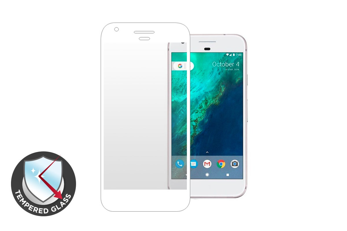Kogan Premium Tempered Glass Screen Protector for Google Pixel XL (White)