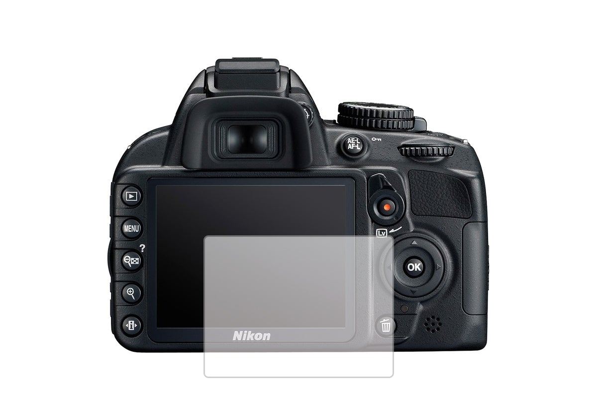 Screen Protectors - LCD Screen Protector for Nikon DSLR Cameras