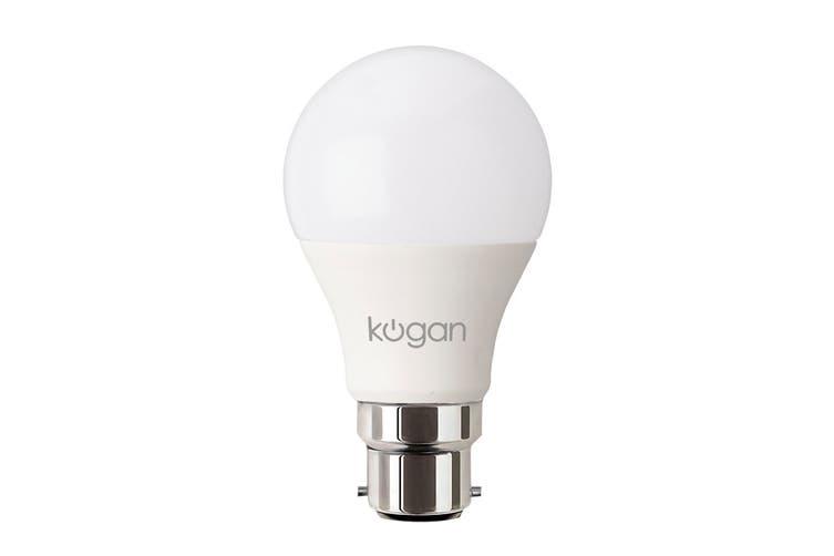 Kogan SmarterHome™ 10W Ambient RGBW Smart Bulb (B22) - 2 Pack