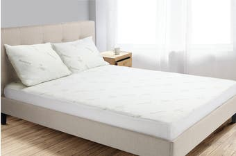 Trafalgar Bamboo Fitted Mattress Protector (King)