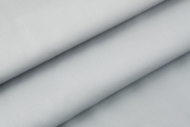 Trafalgar 1500TC Cotton Rich Luxury Bed Sheet Set (Queen, Pale Grey)