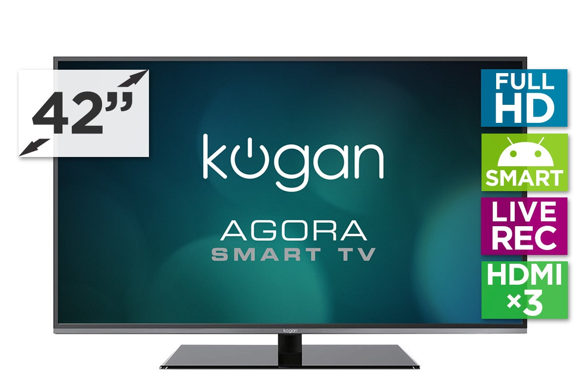 "LED Televisions - Kogan 42"" Agora Smart LED TV (Full HD)"