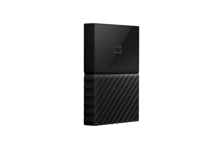 WD My Passport 1TB USB 3.0 Portable Hard Drive - Black (WDBYNN0010BBK-WESN)