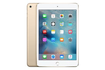Apple iPad Mini 4 (128GB, Cellular, Gold)