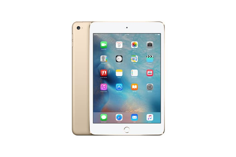 Apple iPad Mini 4 (128GB, Cellular, Gold)