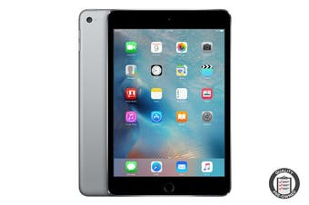 Apple iPad Mini 4 Refurbished (128GB, Cellular, Space Grey) - A Grade