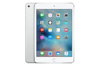 Apple iPad Mini 4 (128GB, Cellular, Silver)