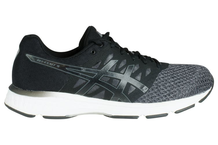 ASICS Men's Gel-Exalt 4 Running Shoe (Dark Grey/Black/White, Size 8.5)