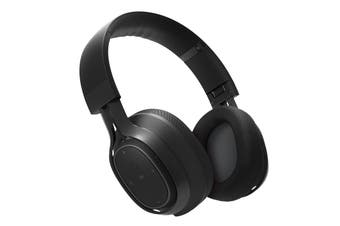 BlueAnt Pump ZONE Wireless Bluetooth Over Ear HD Audio Headphones - Black
