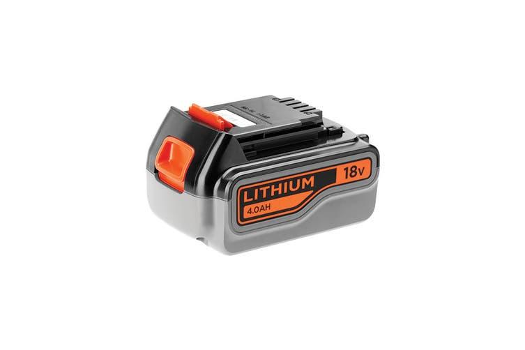 Black & Decker 18V Li-Ion Battery 4.0Ah  (BL4018-XE)