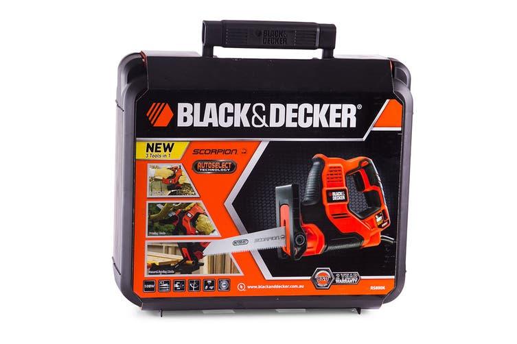 Black & Decker 500W AutoSelect Scorpion Saw (RS890K-XE)