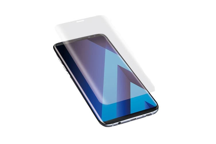 Cygnett RealCurve 9H Tempered Glass Screen Protector for Samsung Galaxy S8 Plus