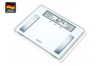 Beurer XXL Glass Body Fat Bathroom Scale (BG51XXL)
