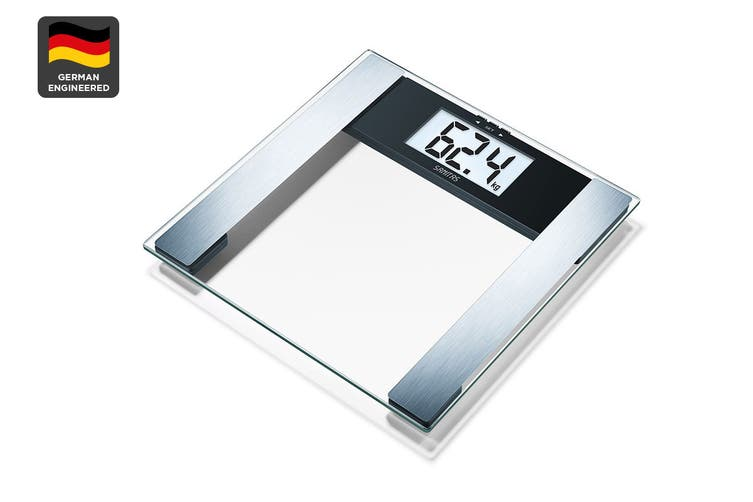 Sanitas Digital Glass Body Fat Bathroom Scale (SBG17)