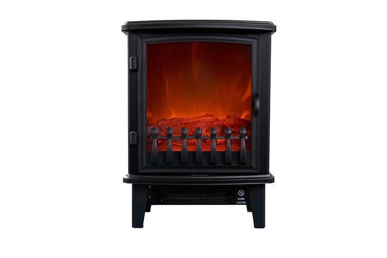 Heller 1800W Electric Freestanding Fireplace Heater (HFH18D1)