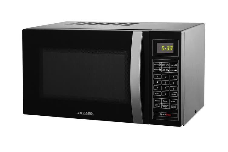 Heller 25L Digital Microwave Oven - Black (HMW25B)