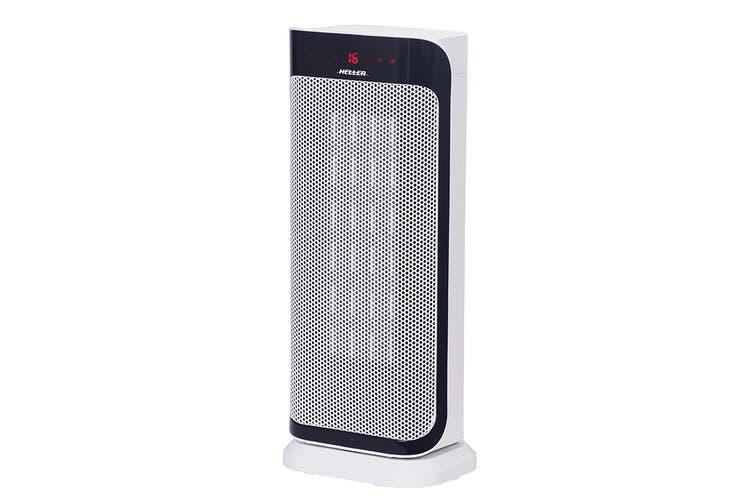 Heller Ceramic Oscillating Fan Heater 2000W with Remote (HCFHU2000R)