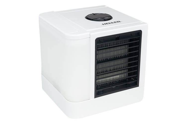 Heller 3.5W Mini USB Personal Air Cooler with 3 Speed Settings (HMC02)