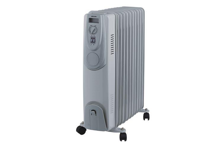 Heller 2400W 11 Fin Oil Heater with Timer & Fan Assist (HOIL11TF)