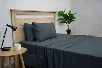 Apartmento Micro Flannel Sheet Set (Navy)