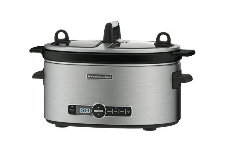 KitchenAid Artisan Slow Cooker - Stainless Steel (5KSC6222ASS)