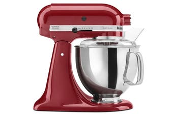 KitchenAid KSM150 Artisan Stand Mixer - Empire Red (5KSM150PSAER)