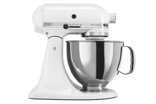 KitchenAid KSM150 Artisan Stand Mixer - White (5KSM150PSAWH)
