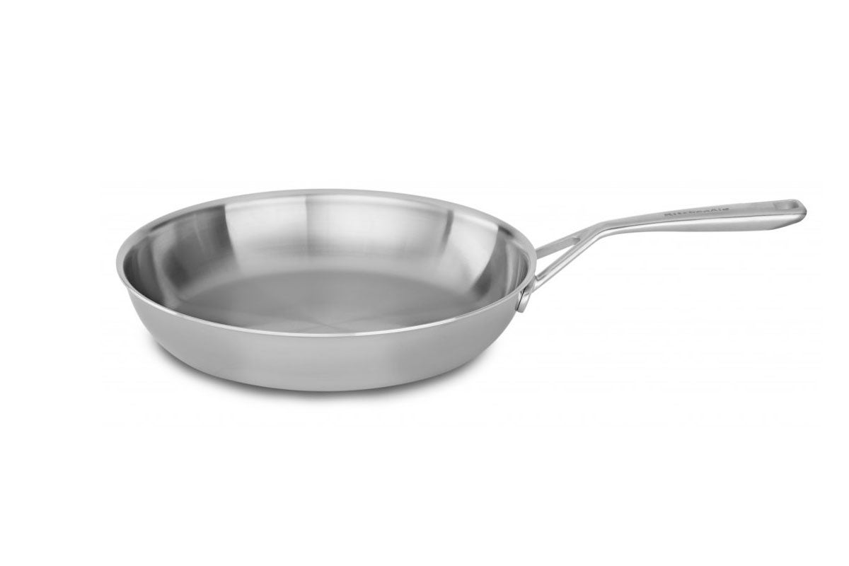 KitchenAid Tri-Ply 30cm Stainless Steel Frypan (KC2T12SKST)
