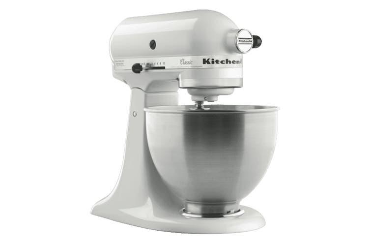 KitchenAid KSM45 Classic Stand Mixer - White (5KSM45AWH)
