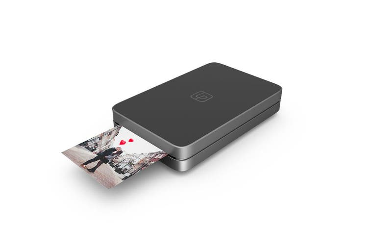 Lifeprint 2 x 3 Portable Photo & Video Printer with BONUS Photo Film - Black (90024820)