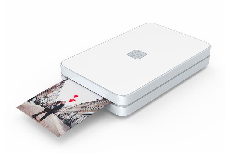 Lifeprint 2 x 3 Portable Photo & Video Printer with BONUS Photo Film - White (90024825)