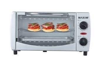 Maxim Kitchen Pro 9L Mini Oven - Silver (MMO9S)