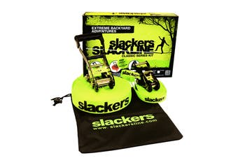 Slackers 50' Slackline Classic for Obstacle Sports and Outdoors
