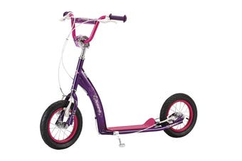 Eurotrike Xero 12 BMX Scooter - Pink/Purple