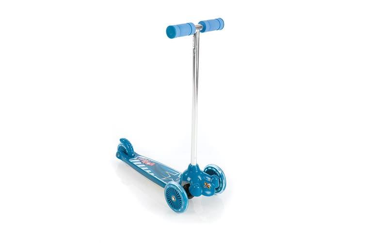 Eurotrike Twist & Roll Tri Scooter - Blue