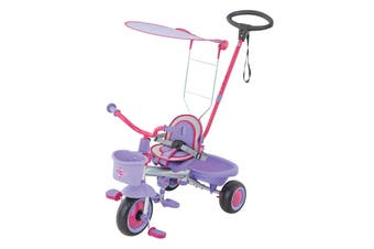 Eurotrike Ultima Plus with Canopy - Pink